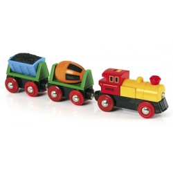 Brio® World 33319 - Battery Operated Action Train