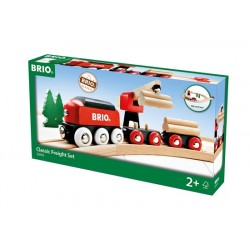 Brio® World 33010 - Circuit tradition transport de bois