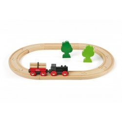 Brio World 33042 - Petit circuit de train en forêt