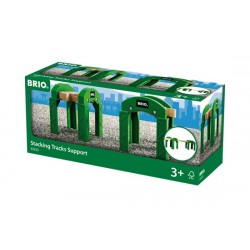 Brio World 33253 - Supports de pont empilables