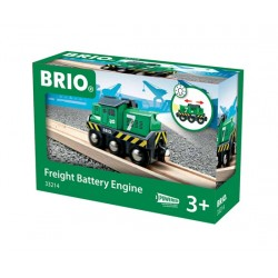 Brio World 33214 - Locomotive de fret à pile
