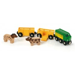 Brio World 33404 - Train des animaux de la ferme