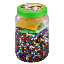 Hama® 2087 - Beads and pegboards in tub