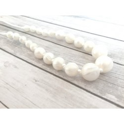 MC&C 46 - Teething Necklace - Colombe
