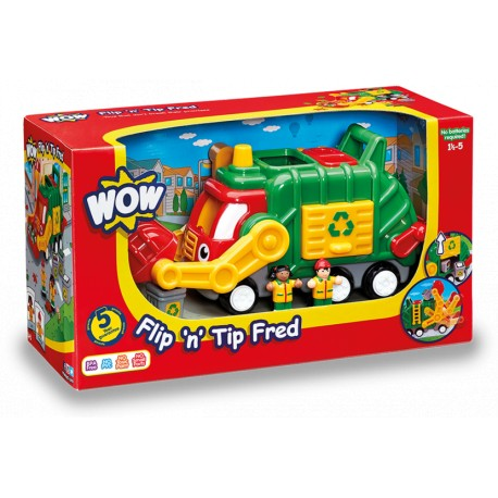 WOW® 01018 - Fred le camion de recyclage