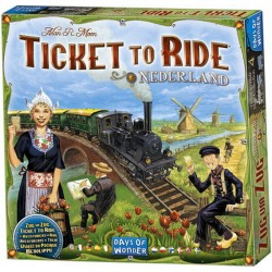 Les Aventuriers du Rail™ - Extension: Pays Bas - Days of Wonder®