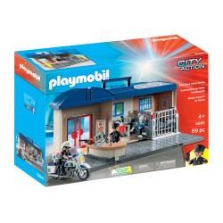 Playmobil® 5689 - City Action - Commissariat de police transportable