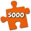 5000 morceaux