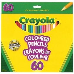 Crayola® 2060 - Ensemble de 60 crayons de couleur