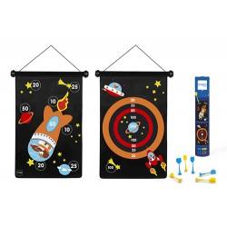 Scratch Europe 2001 - Jeu de fléchettes magnétiques - Astronaute