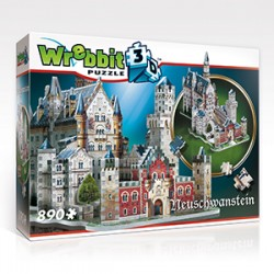 Wrebbit Puzzle 3D - 2005 - Neuschwanstein