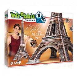 Wrebbit Puzzle 3D - 2009 - Eiffel Tower