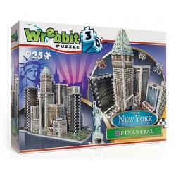 Wrebbit Puzzle 3D - 2013 - New York Collection Financial
