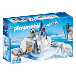 Playmobil 9056 - Action - Explorateurs avec ours polaires