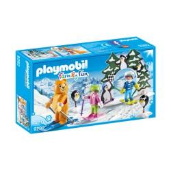 Playmobil 9282 - Family Fun - Moniteur de ski avec enfants