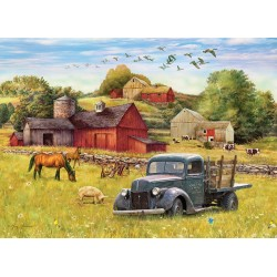 Cobble Hill 80002 - Puzzle 1000 pcs - Summer Afternoon on the Farm
