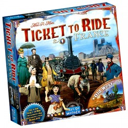Ticket to Ride - Extension: France - Days of Wonder