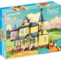 Playmobil 9475 - Lucky's Happy Home - Spirit Riding Free
