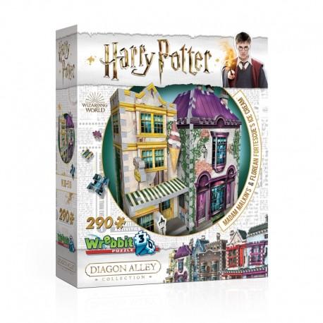 Wrebbit Puzzle 3D - 509 - Le chemin de Traverse Collection - Harry Potter