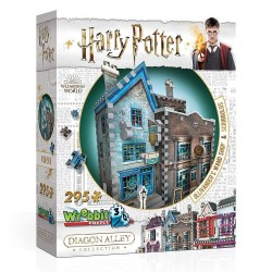 Wrebbit Puzzle 3D - 508 - Le chemin de Traverse Collection - Harry Potter