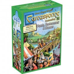 Carcassonne 8e - Extension: Ponts, Forteresses & Bazars