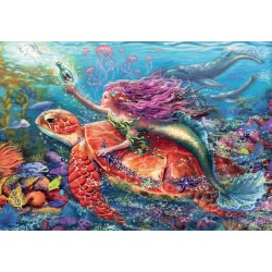 Ravensburger® 07834 - Children's Puzzle 2 x 24 pcs - Mermaid adventures