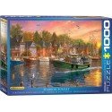 Eurographics - Harbor Sunset - 0969