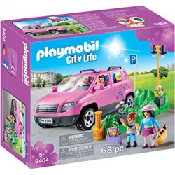Playmobil 9404 - Family Car with Parking Space
