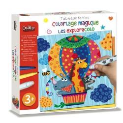Coloriage Magique Facile - Les Exploracolo