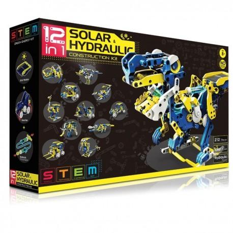 12 in 1 Solar & Hydraulic Construction Kit