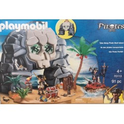 Playmobil 70113 - Ile des pirates transportable