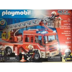 Playmobil 9463 - Camion de pompiers avec échelle pivotante