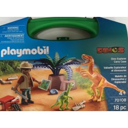 Playmobil 70108 - Dino Explorer Carry Case L