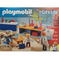 Playmobil 9456 - Classe de Physique Chimie