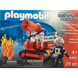 Playmobil 9467 - Pompier avec robot d'intervention