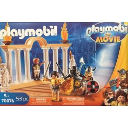 Playmobil 70076 - THE MOVIE Empereur Maximus et Colisée
