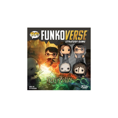 Funkoverse Strategy Game: Harry Potter 4-Pack