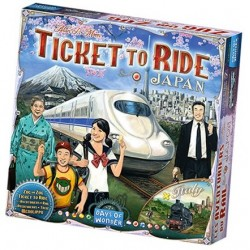Ticket to Ride - Japan and Italia (ext) - Days of Wonder
