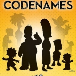 Codenames Simpsons - USAopoly