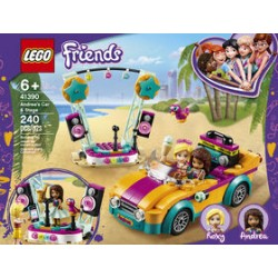 Lego 41390 - Friends - Andrea's Car & Stage