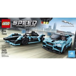 LEGO 76898 - Speed Champions -Formula E Panasonic Jaguar Racing GEN2 car & Jaguar I-PACE eTROPHY