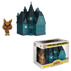 Funko Pop! 01 - Town - Scooby-Doo & Haunted Mansion