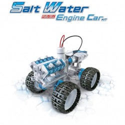 Salt Water Fuel Cell Egngine Car