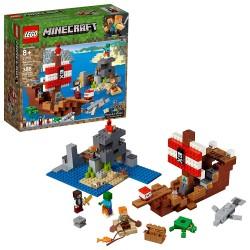 LEGO 21152 - Minecraft - L'aventure du bateau pirate