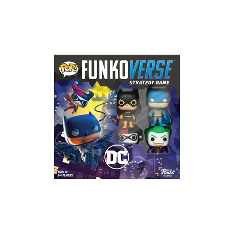 Funkoverse Strategy Game: DC Gotham City Rumble