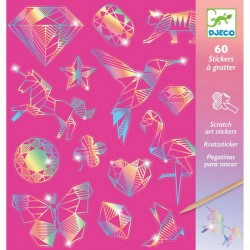 Djeco DJ09736 - cartes à gratter - Diamants