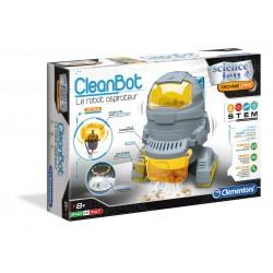 Cleanbot le robot aspirateur - Clementoni