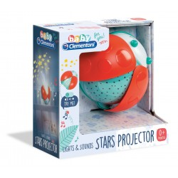 Baby Clementoni for you - Light & Sounds stars projector