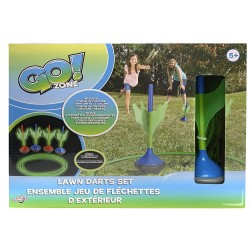 Go! Zone - Glow In The Dark Lawn Darts Set