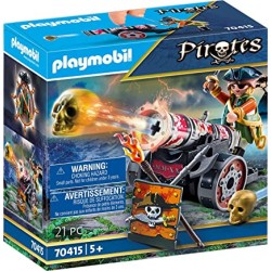 Playmobil 70415 - Pirate with Cannon